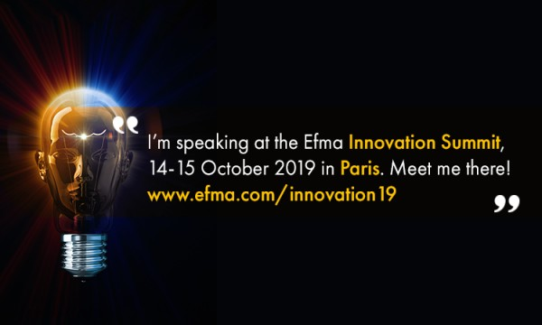 KEY NOTE AT EFMA INNOVATION SUMMIT, PARIS